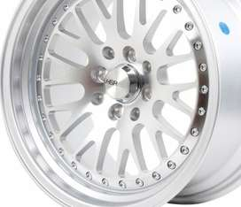Velg Racing HSR Classic H15 Ring 16 H8 ET25-20 Silver Machine Face 2