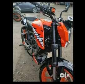 Duke 200 first owner