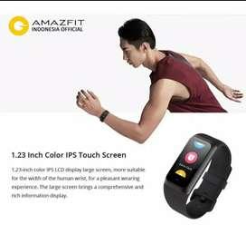 Gelang amazfit core 2 terbaru dengan fitur detak jantung , langkah dll