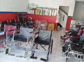 Jual kursi roda lengkap travelling dan standar