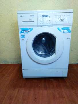 FREE home delivery, LG tromm 5.5kg front load washing machine