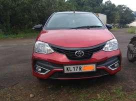 Toyota Etios Liva VD, 2017, Diesel
