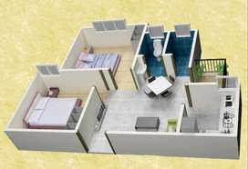 2 BHK Flats only in 12.51 Lacs