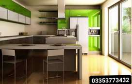 New modular kitchen cabinets & wardrobe cupboard design