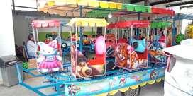 odong loko thomas PROMO kereta rel bawah komedi safari eskavator mini