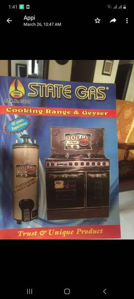 State Gas Stove Burner and Oven