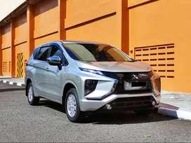 Mitsubishi Xpander GLS m/t 2020 Silver Km 8rb Like New