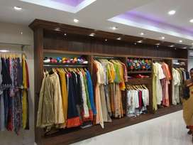 Designer boutique and churidhar and ladies wears