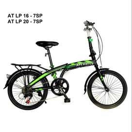 Sepeda Lipat 20 inch Merk Atlantis