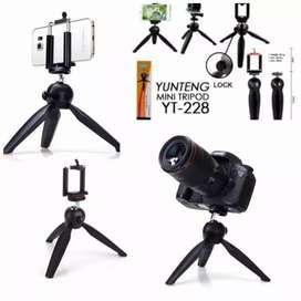 Tripod Yunteng bisa kamera bisa smartphone Free holder