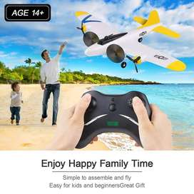 (New) RC Airplanes B17 2 Channel 2.4GHz RC Plane Built-in Gyro System