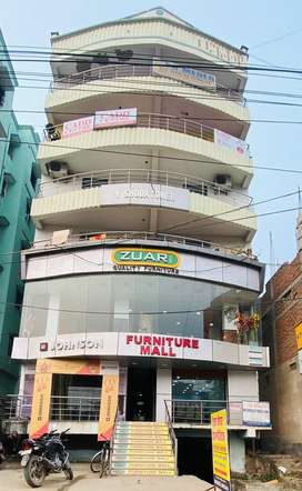 Well furnished, Commercial cum residential flat, kankarbagh main road