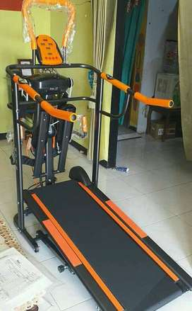 treadmil 6 in 1 manual getar perut