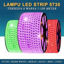 Lampu strip warna warni