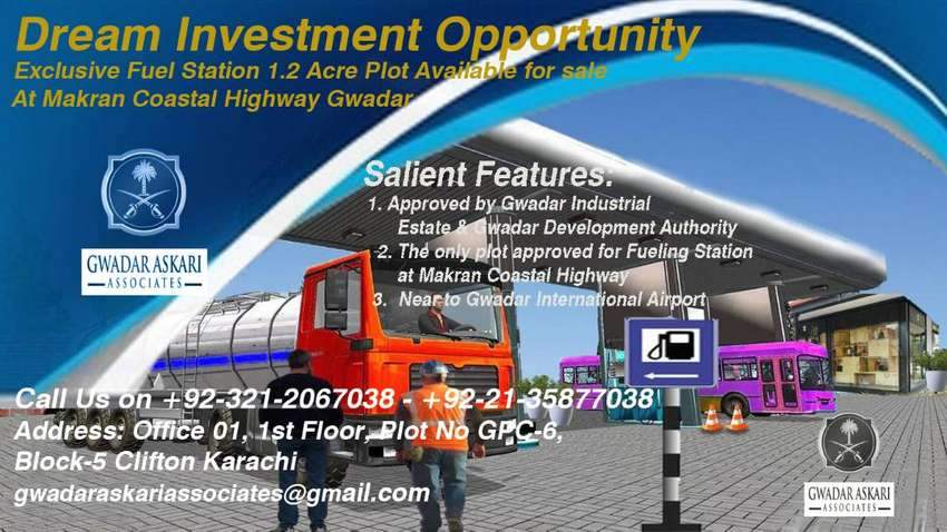 Exclusive Fuel Station Plot Available For sale in GIEDA 0