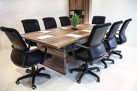 Conference Table for Office Use | Meeting Table High Quality Material