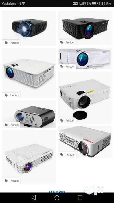 Available on Rent Excellent Quality (Brand New) Full HD Projectors 0
