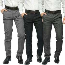 Celana Kain Formal Kantor Kerja Berbagai Warna Slim fit /Regular Pria