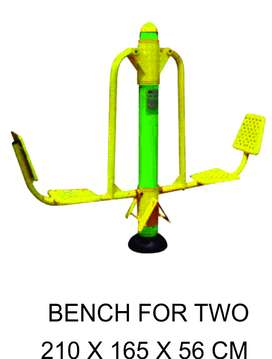 Super Murah Bench For Two Outdoor Fitness