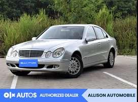 [OLX Autos] Mercedes Benz E280 2006 Bensin 2.8 A/T Silver #Allison