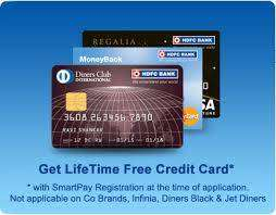Lift Time Free Credit Card