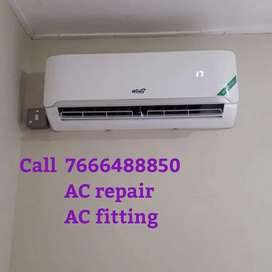 AC fitting AC repair AC service AC installation AC uninstallation