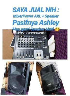 Speaker Pasif Ashley