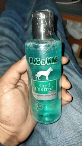 Hug N Wag Shed(Hairfall) Control Shampoo for Dogs, 200 ml MRP Rs 270