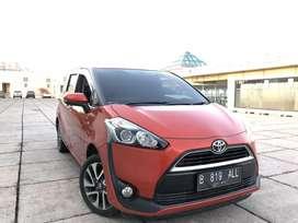 Toyota Sienta 2016 V matic keyles Pjk pjng tngan 1 srvc rcord istimewa