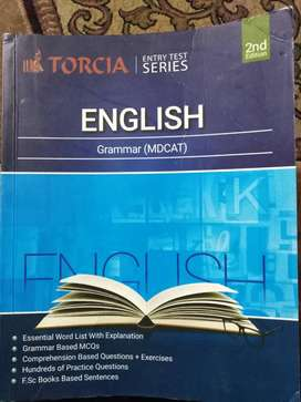 Mdcat/Nums English grammer book