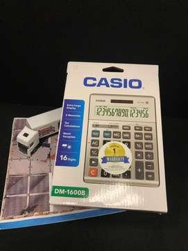 Kalkulator Casio 16 Digit DM1600B