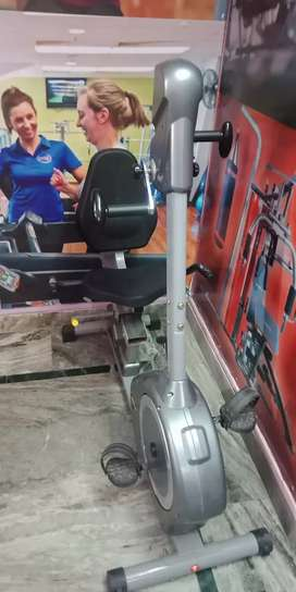 Dual motion recumbent bike r252
