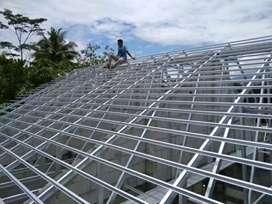 Aplikator rangka atap baja ringan TASO,CILEGON STELL & ELEGANT PVC