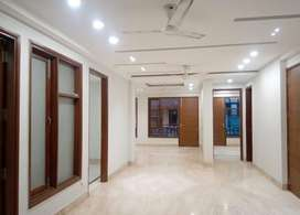 Three bhk flat with car parking and balcony