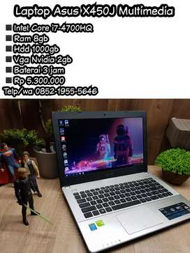 Laptop Asus X450J Gaming Multimedia
