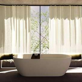 Bathtub Tabang Megah Bendung Terrazzo