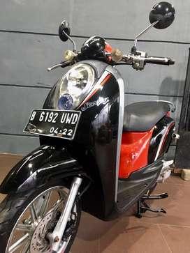 Honda scoopy 2012 pajak 4-2021 b dki