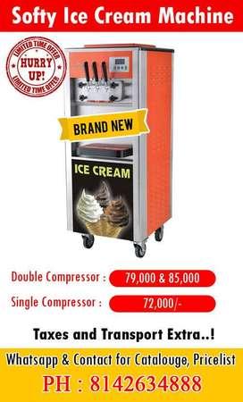 India's Best Soft Serve Softy Ice Cream Machine