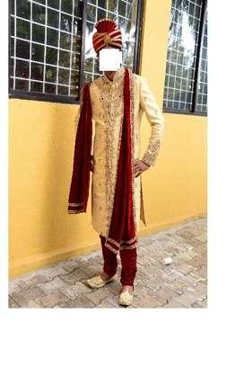 BrideGroom Type Manyavar Sherwani on Sale, Price negotiable