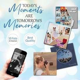 Photobook Kualitas Premium Gratis Ongkir !!