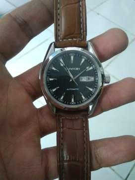 Jam tangan Guanqin model aqua terra automatic