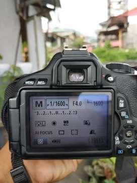 Canon 600 D tas