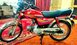 cd70 2011 model. 2 stroke. Bike. Peshawar registered