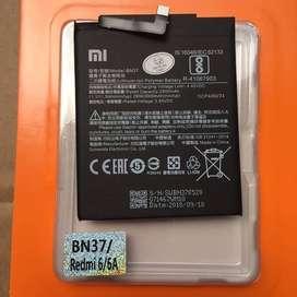 Baterai Redmi 6a Redmi 6 Redmi 6 Pro BN37 Sekalian Pasang