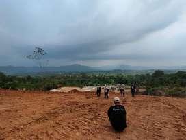 Jual Tanah Kavling Bogor Udara Segar Lereng Gunung Wangun View Indah