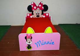 Single Bed for Girls, New Style Kids Beds By Furnisho