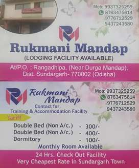 Lodge manager for management of lodge , . RUKMANI LODGE
