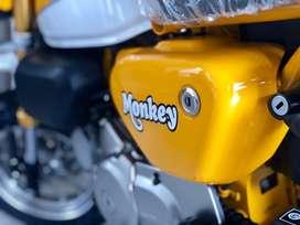 Honda monkey nik 2019 km 40 resmi astra