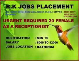 R. K JOBS placement bathinda cont 85287@ @@26@ 321