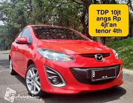 Mazda 2 type R A/T 2014 TDP Ceper 10jt